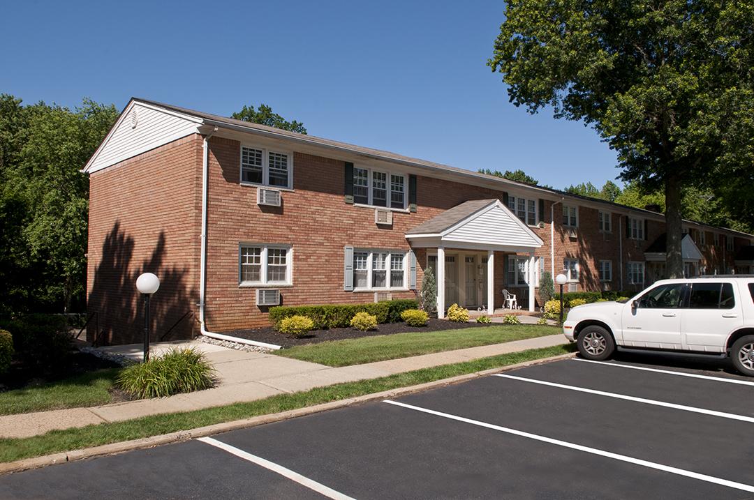 Exterior of Brookwood Apartments