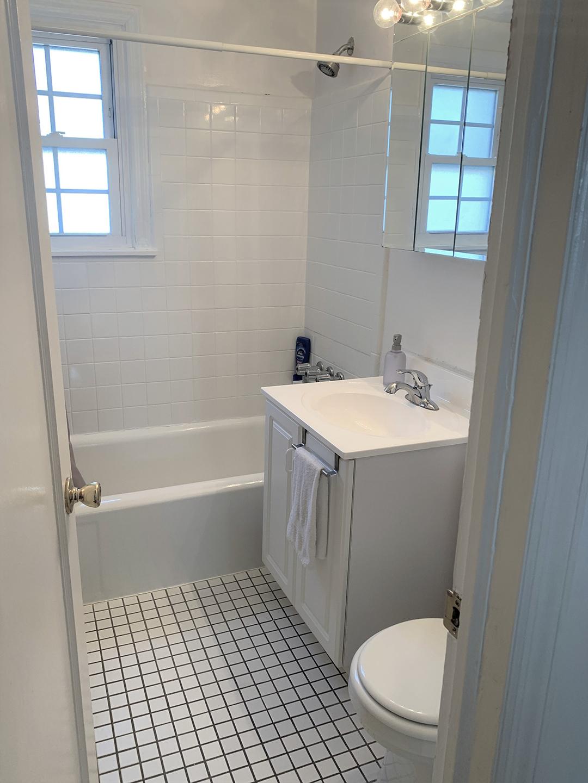 Bathroom in Garfield Park apartment