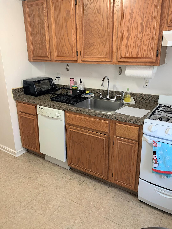 Garfield Park apartment kitchen interior