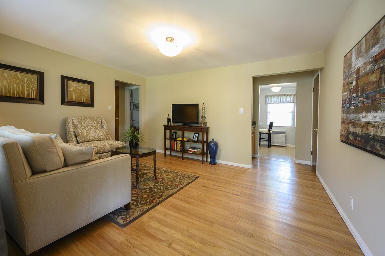 Interior living space at New Milford Estates