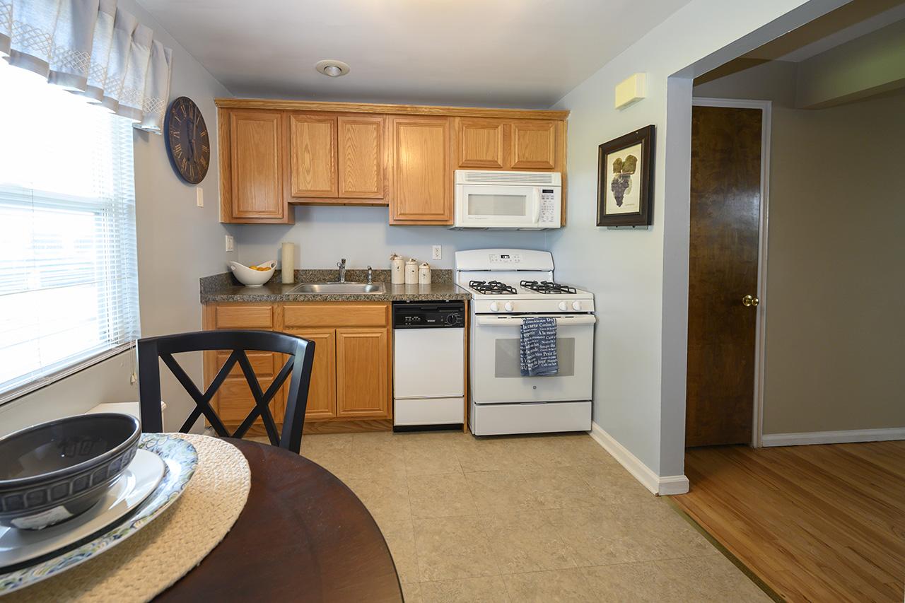 New Milford Estates kitchen interior