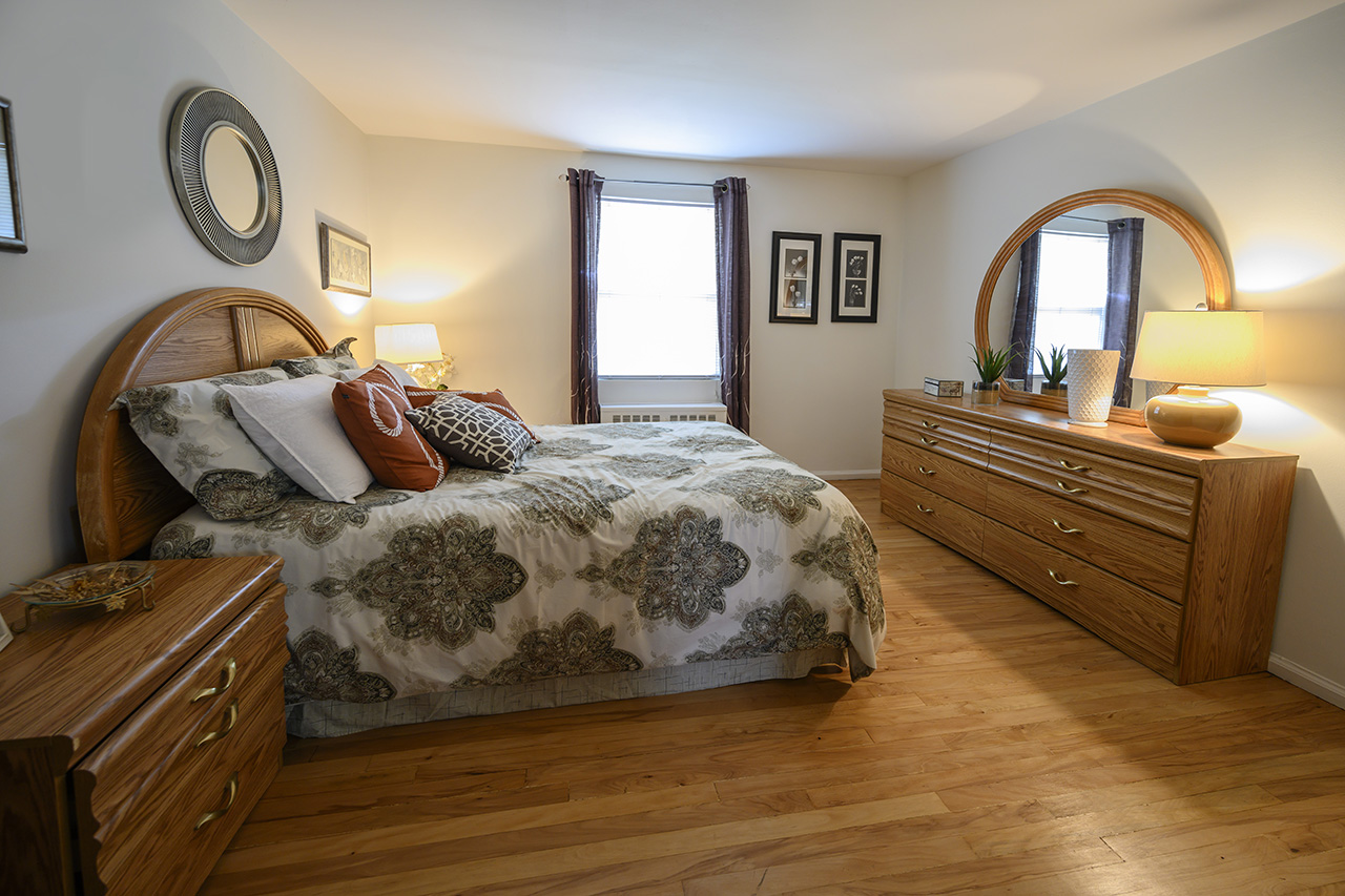 New Milford Estates bedroom interior