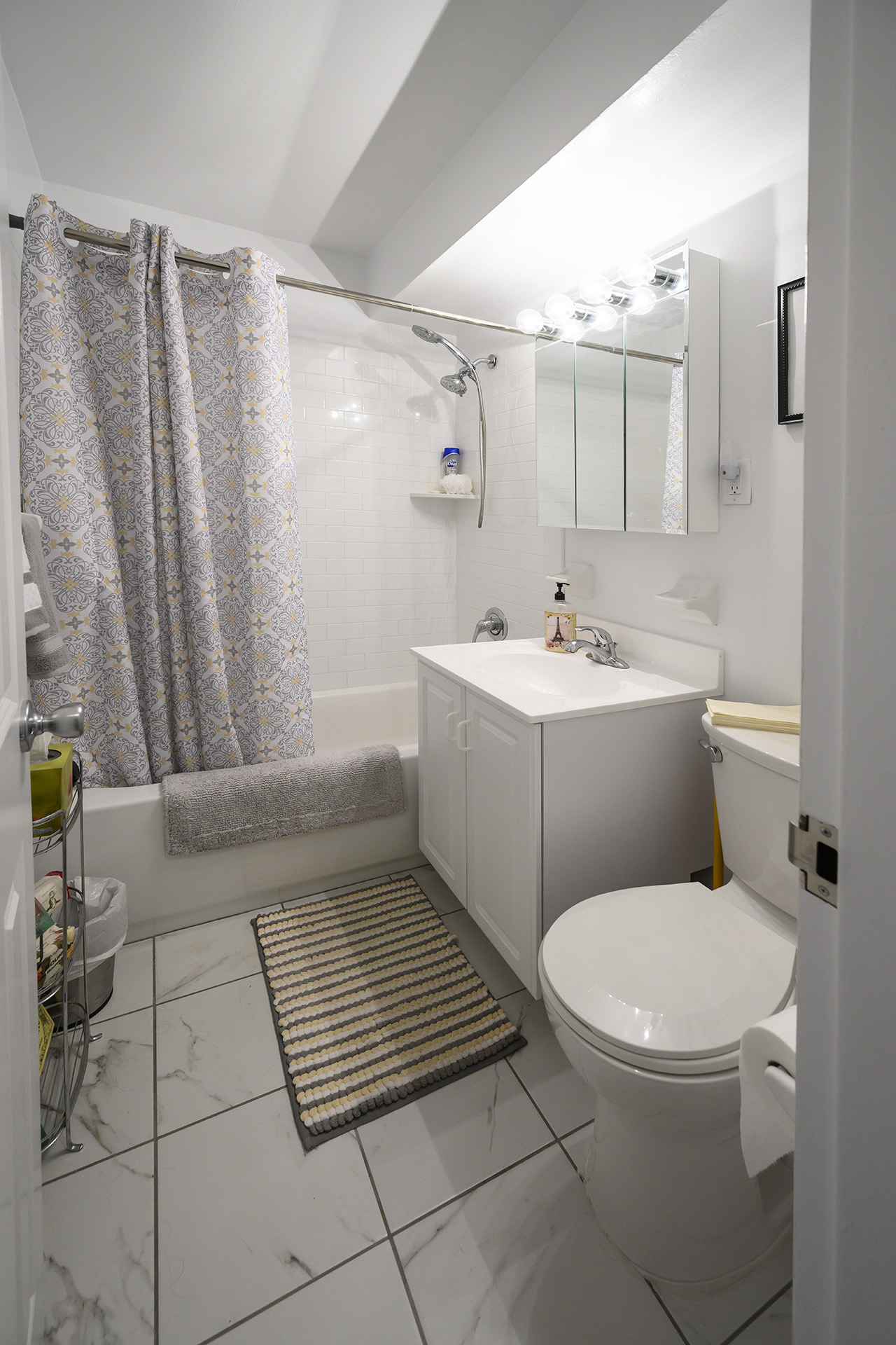 Bathroom interior at Westover House