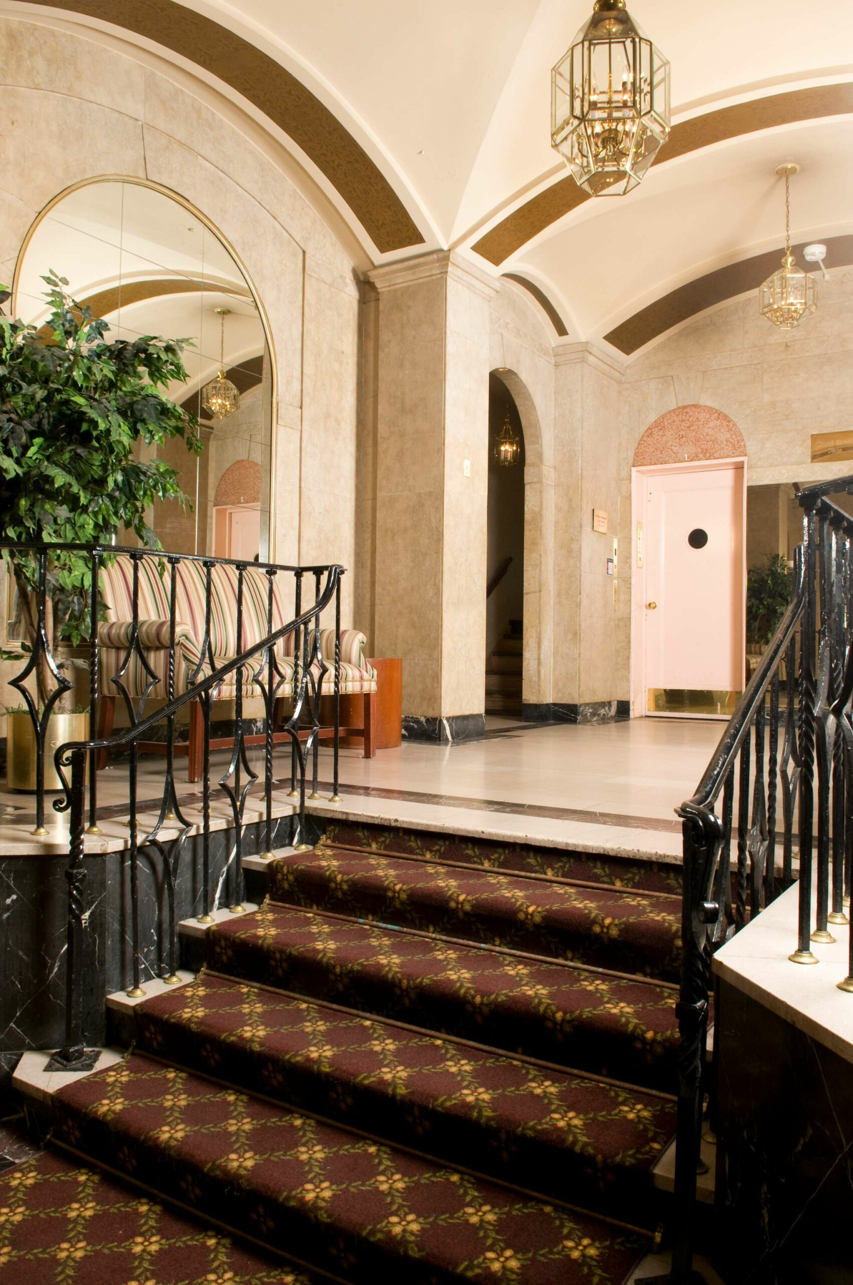 Church Street lobby stairs