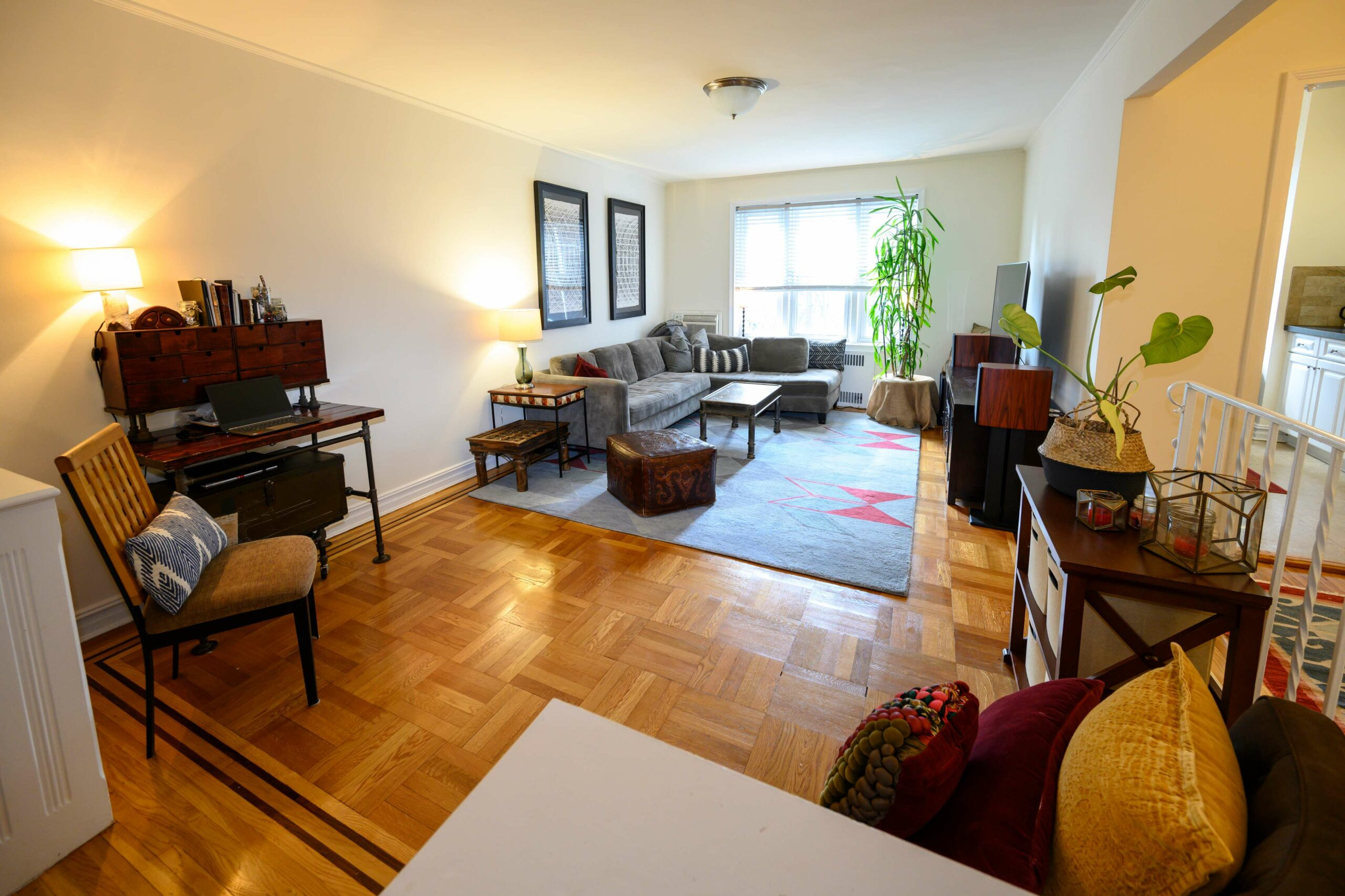 The Midland living room