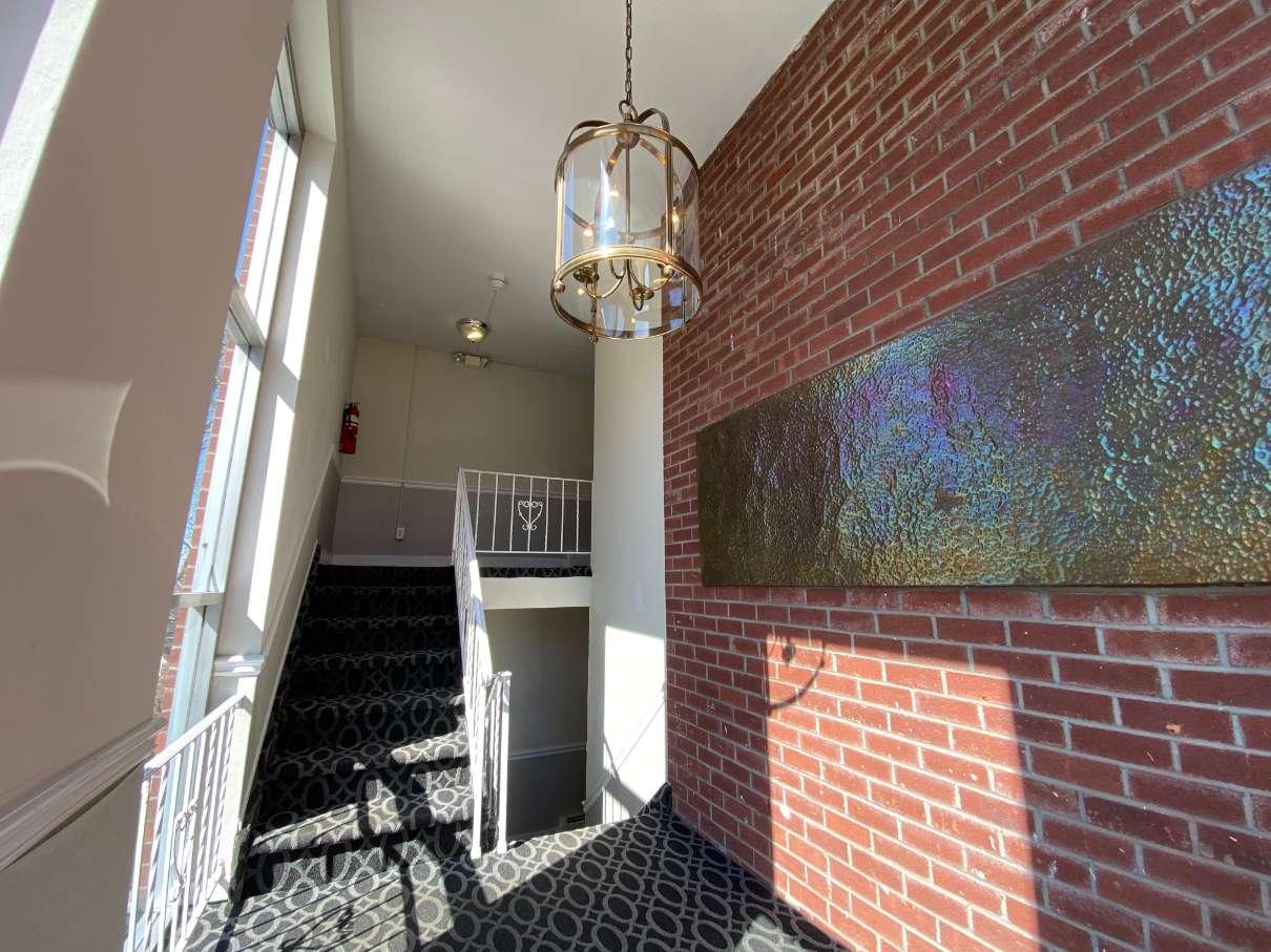 Caldwell House hallway